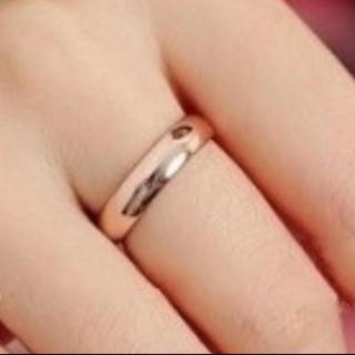再入荷 シンプル 指輪 リング(リング(指輪))