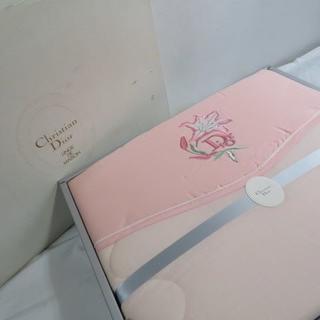 クリスチャンディオール(Christian Dior)の未使用 クリスチャンディオール DIOR キルトケット 寝具(布団)