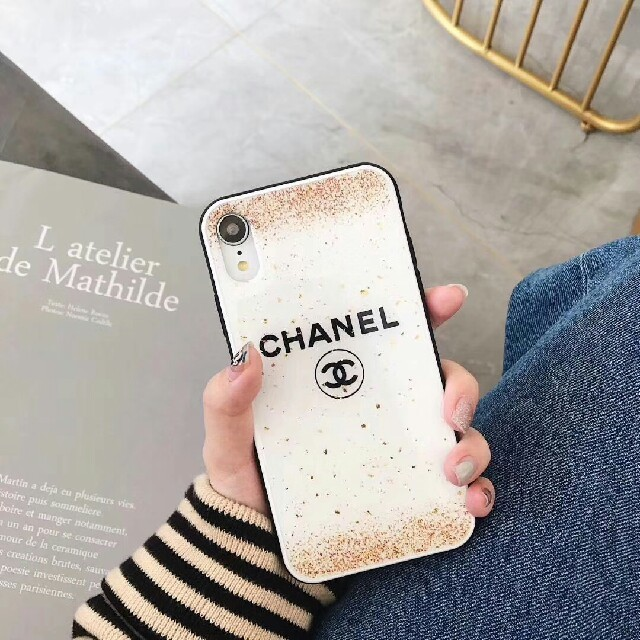 iPhone - CHANEL 新品! 携帯ケースの通販 by シノサキ シナ's shop|アイフォーンならラクマ