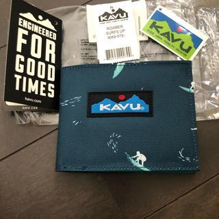 カブー(KAVU)の未使用!KAVU カブー 2つ折り 財布 ウォレット (折り財布)
