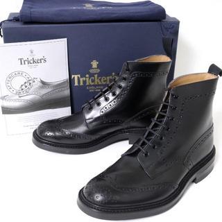 トリッカーズ(Trickers)のトリッカーズ M2508 MALTON レザー カントリー ブーツ UK8 新品(ブーツ)
