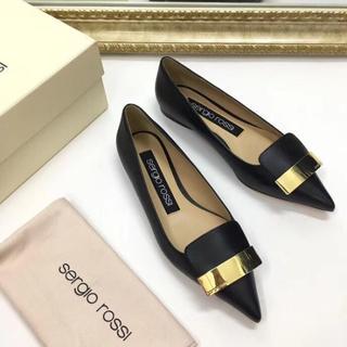 セルジオロッシ(Sergio Rossi)の大人気品 SERGIO ROSSI ハイヒール/パンプス ローファー/革靴 (ハイヒール/パンプス)