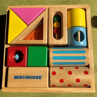 ミキハウス(mikihouse)の木製 つみき ミキハウス(積み木/ブロック)
