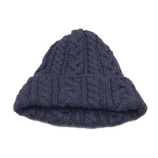 ハイランドクラブ(Hiland Club)のハイランド 2000 ニット帽 ウール 紫(ニット帽/ビーニー)
