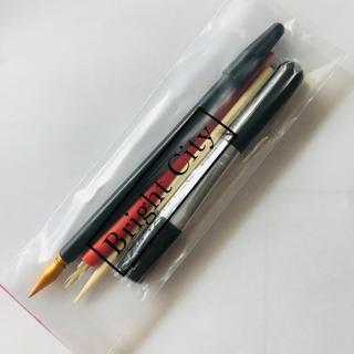 【即発送*新品】作業効率アップ4本セット★スクラッチアートペン★専用ペン ブラシ(絵筆 )