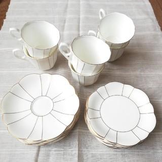 ミカサ(MIKASA)のMIKASA JAPAN カップ&ソーサー ケーキ皿のセット(グラス/カップ)