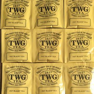 1837 TWG BLACK TEA  9袋(茶)
