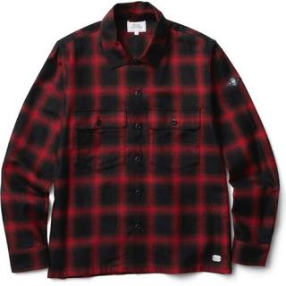 クライミー(CRIMIE)の新品半額 CRIMIE チェックシャツ(赤)(シャツ)