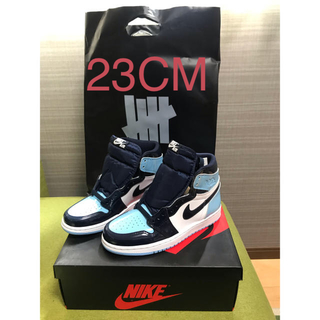 ナイキ(NIKE)のAIR JORDAN 1 RETRO HIGH OG BLUE CHILL(スニーカー)
