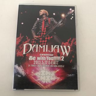 DAMIJAW ライブ DVD(ミュージック)