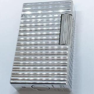 エステーデュポン(S.T. Dupont)の【S.T Dupont デュポン】ライター ガスライター  ストライプ 着火保証(タバコグッズ)
