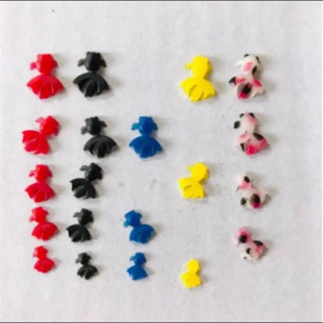 金魚レジンパーツ ハンドメイドの素材/材料(各種パーツ)の商品写真