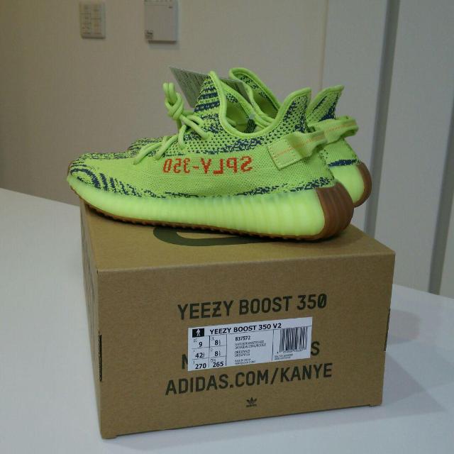 adidas(アディダス)のYEEZY BOOST 350 V2 SEMI FROZEN YELLOW メンズの靴/シューズ(スニーカー)の商品写真