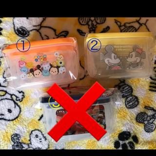 ディズニー(Disney)の角型シール容器 2サイズセット(容器)