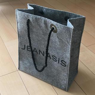 ジーナシス(JEANASIS)のJEANASiS・ショッパー(ショップ袋)