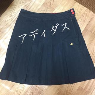 アディダス(adidas)の☆アディダス☆プリーツスカート(ひざ丈スカート)