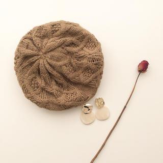 ワンアフターアナザーナイスクラップ(one after another NICE CLAUP)のニットベレー帽(ハンチング/ベレー帽)