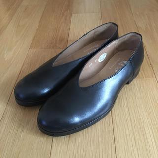 エボニーアイボリー(Ebonyivory)のH.KATSUKAW×Ebony レザースリッポン(ローファー/革靴)