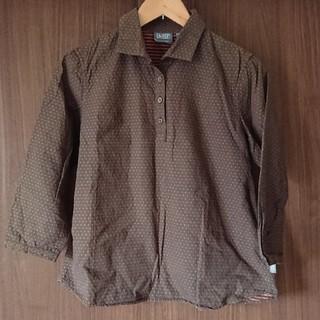 エーグル(AIGLE)のAIGLE ドットシャツ(シャツ/ブラウス(長袖/七分))