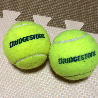 ブリヂストン(BRIDGESTONE)のテニスボール 硬式 二個(ボール)