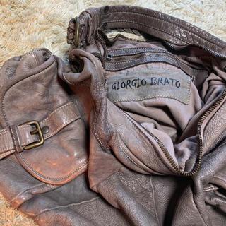 ジョルジオブラット(GIORGIO BRATO)のGIORGIO BRATO レザーbag(ショルダーバッグ)