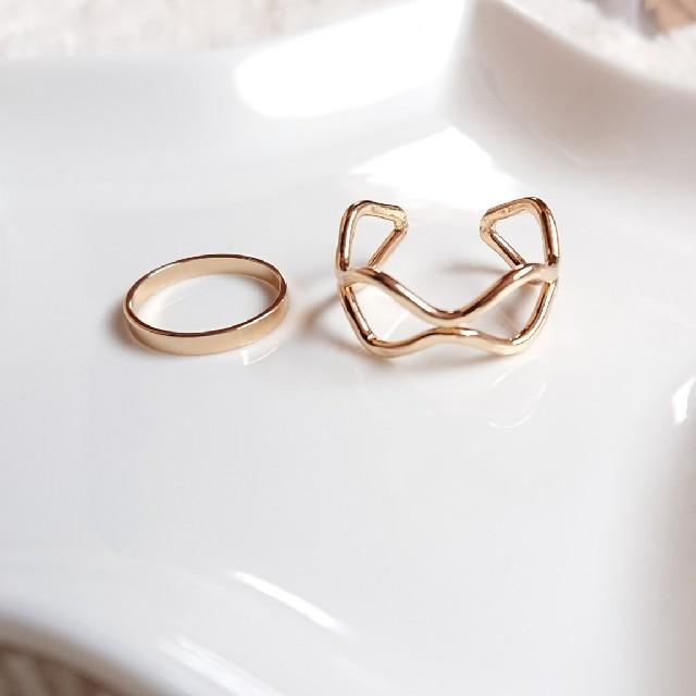 リングセット レディースのアクセサリー(リング(指輪))の商品写真