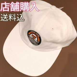 ジーユー(GU)の新品!ジーユー GU スタジオセブン STUDIO SEVEN ローキャップ白(キャップ)