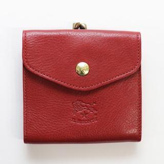 b16776b66fcd イルビゾンテ(IL BISONTE)の新品 イルビゾンテ がま口 財布 赤 二つ折り ブランド コインケース
