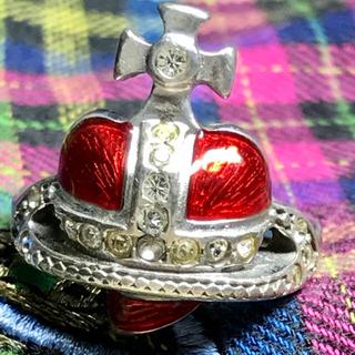 ヴィヴィアンウエストウッド(Vivienne Westwood)のヴィヴィアン ディアマンテ  ハート リング(リング(指輪))