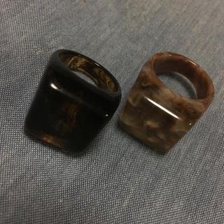 トランク(TRUNK)のさのまい💛トランク💛べっ甲指輪(リング(指輪))