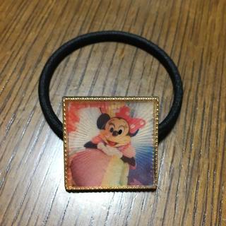 ディズニー(Disney)のイマジニングザマジックミニーマウス レジン ヘアゴム ハンドメイド(ヘアアクセサリー)