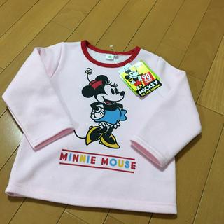 ディズニー(Disney)の新品 ミニーちゃん ミニーマウス トレーナー チュニック(ニット)