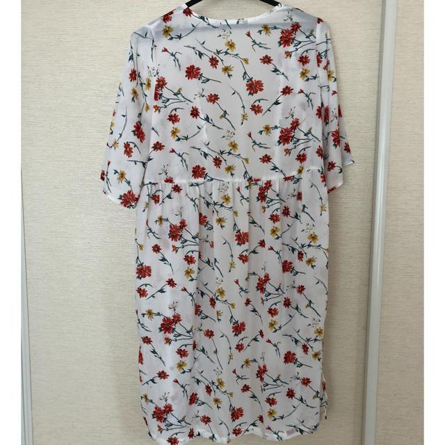 しまむら(シマムラ)のしまむら  花柄ガウン レディースのトップス(カーディガン)の商品写真