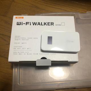 エーユー(au)のau Wi-Fi WALKER DATA06 白(その他)