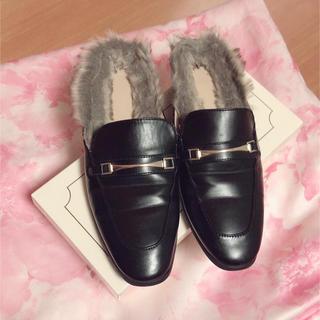 ジーユー(GU)のGUファーローファー(ローファー/革靴)