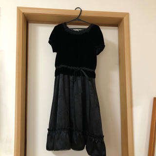 キャサリンコテージ(Catherine Cottage)の女児 ワンピース ドレス(黒)(ワンピース)