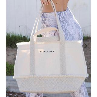 アリシアスタン(ALEXIA STAM)の完売 Switching Medium Tote Bag Ivory(トートバッグ)
