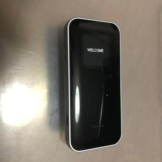 エーユー(au)のau  Wi-Fi WALKER DATA05 黒(その他)