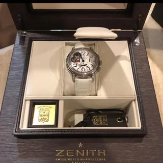 ゼニス(ZENITH)のZENITH ゼニス クロノマスター オープンハート 自動巻き ダイヤ(腕時計)
