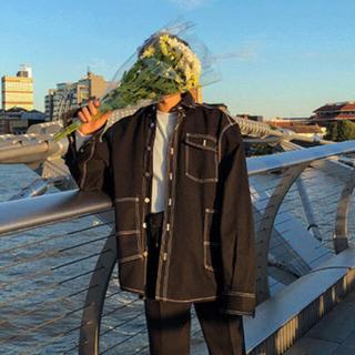 ASCLO Overfit Stitch Shirt Jacket(ブルゾン)