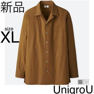 ユニクロ(UNIQLO)のユニクロユー 長袖シャツ Yシャツ ブラウス 紳士 XL ルメール イネス gu(シャツ)