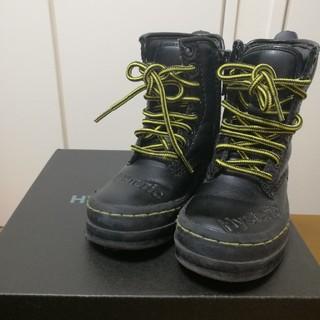 ヒステリックミニ(HYSTERIC MINI)のヒスミニ 8ホールブーツ XS 14センチ(ブーツ)