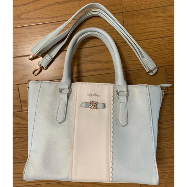 LIZ LISA(リズリサ)のLIZ LISA  バッグ  ブルー レディースのバッグ(トートバッグ)の商品写真