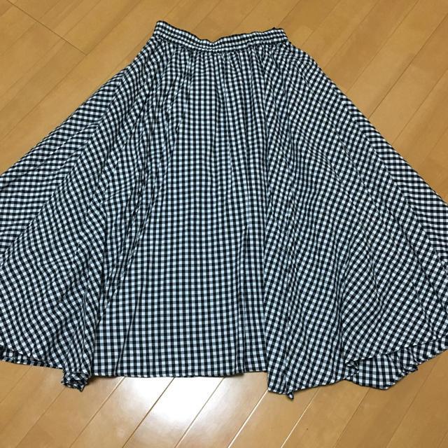 しまむら(シマムラ)の♦︎美品♦︎  ギンガムチェックスカート レディースのスカート(ロングスカート)の商品写真