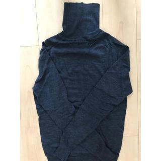 ムジルシリョウヒン(MUJI (無印良品))の無印良品 ダークネイビーニット(ニット/セーター)