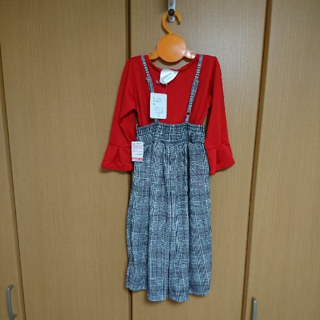しまむら(シマムラ)の110㎝ 女の子 2点セット キッズ/ベビー/マタニティのキッズ服 女の子用(90cm~)(パンツ/スパッツ)の商品写真