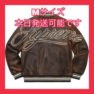 シュプリーム(Supreme)のSupreme Supreme Leather Varsity Jacket(レザージャケット)