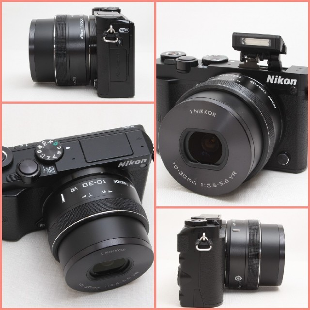Nikon(ニコン)の❤シリーズ最高峰❤性能で選ぶならこのミラーレス一眼♪Nikon 1 J5 スマホ/家電/カメラのカメラ(ミラーレス一眼)の商品写真