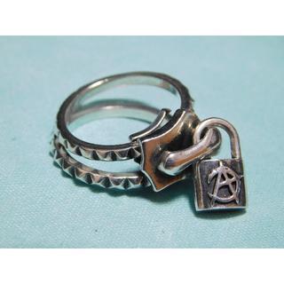 ディールデザイン(DEAL DESIGN)のディールデザイン マジカルジップリング 8号 ダブルリング 指輪(リング(指輪))