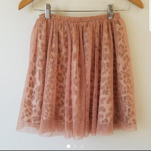 しまむら(シマムラ)のしまむら ヒョウ柄 ミニスカート レディースのスカート(ミニスカート)の商品写真